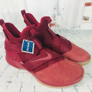 Nike Lebron Soldier XII Basketball Shoes Team Red
